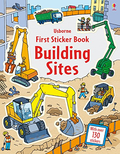 First Sticker Book Building Sites (First Sticker Books)