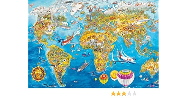 Schmidt world map jigsaw 200 pieces amazon toys games gumiabroncs Image collections