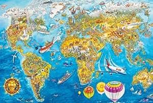 Weltkarte Spiel
