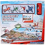 BUCA Aeroplane Carpet Game Scene Game With Planes And Car For Kids
