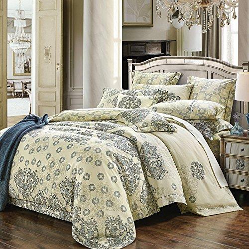 Upscale cotone raso cotone 80 di lusso biancheria da cavallo di quattro , A , 200*230 quilt