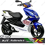 SET ADESIVI REPLICA MOTO GP TEAM RACING SPORT AEROX 50 MBK NITRO 50 R 1997/2012