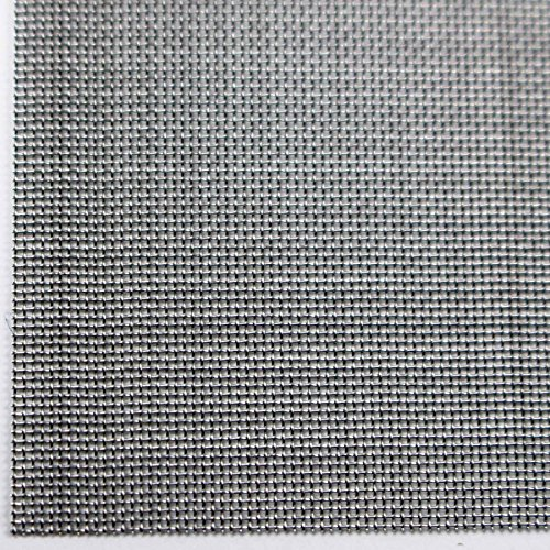 Easipet Stainless Steel Woven Wire Mesh suitable for Vivarium Vent or crafts Mesh Count 40 (1)