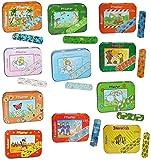 1 Set: 20 Kinderpflaster im Pflasterbox aus Metall - mit Jungen Motiven - Pflaster für Kinder und Erwachsene - Kinderpflaster