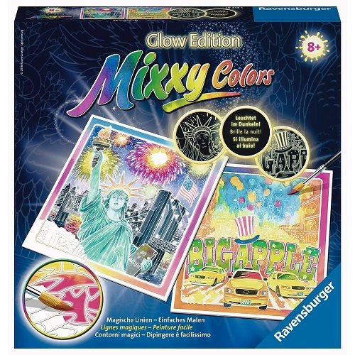 Ravensburger Mixxy Colors 29438 - Leuchtendes New York, Malsets
