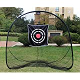 Galileo 7'x7'Golf Net|golf Hitting Net |golf Driving Net|golf Training Net For Indoor&outdoor &backyard/golfing At Home Swing Training Aids|portable Golf Driving Netting With Target