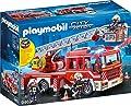 PLAYMOBIL 9463 Spielzeug - Feuerwehr-Leiterfahrzeug