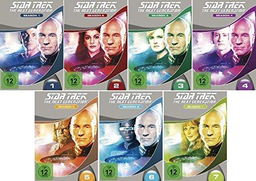 Star Trek - Next Generation/Season-Box 1-7 im Set - Deutsche Originalware [48 DVDs] (Trek-season 1 Dvd Star)