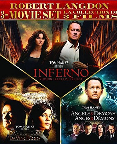 Robert Langdon 3-Movie Set (The Da Vinci Code / Angels & Demons / Inferno) - Da Vinci Collection