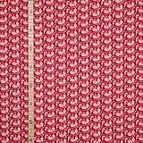 StoffHandwerker Henne - Druckstoff - Westfalenstoffe - Rot
