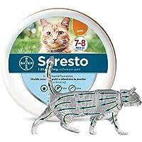 Collare per pulci e zecche per gatto, Protegge il gatto contro pulci e zecche fino a 8 mesi