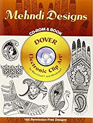 Mehndi Designs CD-ROM and Book (Dover Electronic Clip Art) by Marty Noble (2005-08-23)