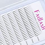 EINWEG Volume Lash Extensions D Curl 0.07mm 8~14mm 3D Lash Extensions Natürliche lange Einzelwimpern Professionelle Wimpern Clusters Naturals Flare-Knotenfrei (D curl 0.07mm, 3D 8-14mm)