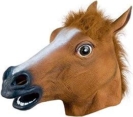 VG Toys & Novelties Latex Rubber Horse Shaped Halloween Party Mask