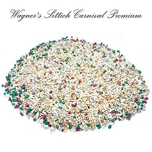 Wagner's | Wagner's Sittichfutter Carnival Premium - 500 g Saaten Futter Mischung für Sittiche