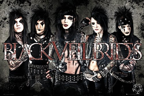 GB eye LTD, Black Veil Brides, Leather, Maxi Poster, 61 x 91,5 cm