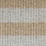 18321 - Costa Casa rústica de la rota de la raya beige, gris y blanca del papel pintado Galerie