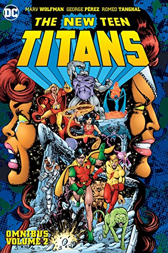 The New Teen Titans battle threats large and small in this massive hardcover collecting NEW TEEN TITANS #21-40, TALES OF THE NEW TEEN TITANS #41, NEW TEEN TITANS ANNUAL #1-2 and BATMAN AND THE OUTSIDERS #5, back in print in a new, recut edition.