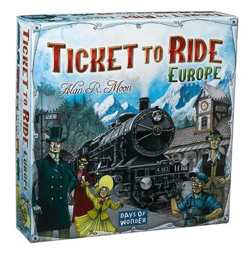 Days of Wonder Ticket To Ride - Europe Bambini Strategia