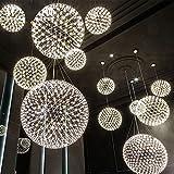 Leuchter Kreatives Nordisches Amerikanisches Land Retro Bar Kronleuchter Esszimmer Wohnzimmer Kreative Runde LED Feuer Kronleuchter