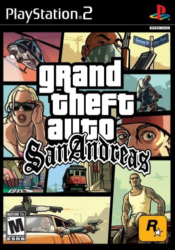 Grand Theft Auto: San Andreas - PlayStation 2 by Rockstar Games - San Ps2 Gta Andreas
