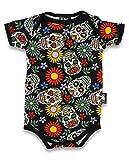 SIX Bunnies - Camiseta de calaveras de azúcar. Talla:6-12 meses