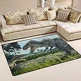 JSTEL INGBAGS Super weicher, moderner 3D-Renderingteppich für Wohnzimmer, Schlafzimmer, Teppich für Kinder, zum Spielen und Dekorieren, Bodenteppich und Teppiche, 79 x 51 cm, Multi, 60 x 39 inch