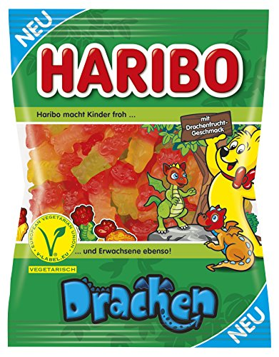 Haribo Drachen, 175 g Beutel