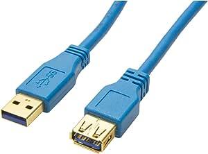 Bigtec 2m Usb 3 0 Kabel Verlängerung Verlängerungskabel Computer Zubehör