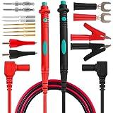 Micsoa Sondes de Test de Multimètre 14 Pièces Kit de Tests Electroniques, Professionnel Kit d'Accessoires sondes remplaçables