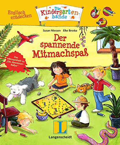 Der spannende Mitmachspaß: Englisch entdecken - Die Kindergartenbande