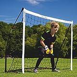 QUICKPLAY Kickster Academy Fußballtore - Ultra TragbarFußballtor beinhaltet Fußballnetz und