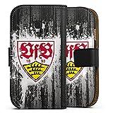 DeinDesign Samsung Galaxy S3 mini Tasche Leder Flip Case Hülle VfB Stuttgart Fussball Stuggi