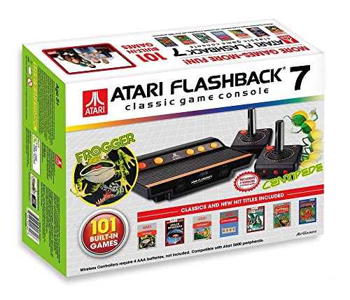 Atari Flashback 7 Console (UK Plug). Latest version with 101 built-in retro games
