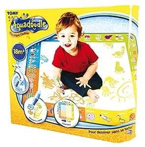 Tomy aquadoodle t72372 tapis de dessin 4 couleurs classiques jeux et jouets - Tapis aquadoodle classique ...