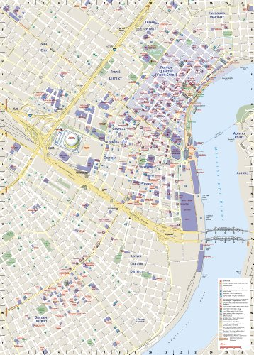 *New Orleans (National Geographic Destination City Map)