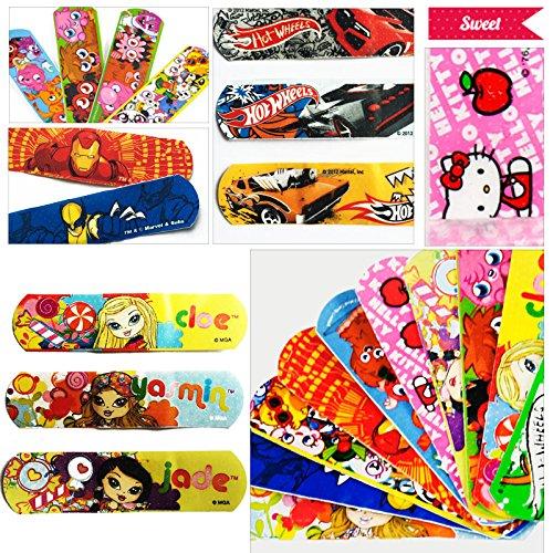 sunny-market-free-shipping-100-pcs-waterproof-breathable-bandages-cute-cartoon-band-aid-hemostasis-a