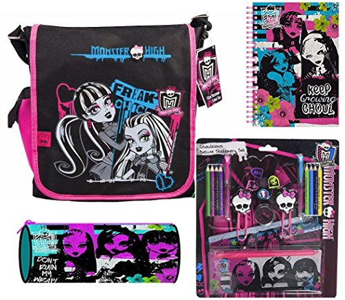 Image of Monster High Filled School Messenger Bag.