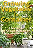 #4: GROWING VEGETABLES IN CONTAINERS: A DIY GUIDE TO GROWING VEGGIE AT HOME