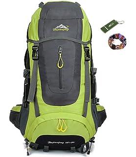 Die Neue 55l Große Volumen Wasserdichte Rucksack Zelte Tasche Gepäck Taschen Getriebe Multi-funktion Können Hand Tasche Reisetaschen