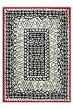 Peppiger Orient Esprit Marken Teppich, hochwertig im zeitlosen Design, Oriental (70 x 140 cm)