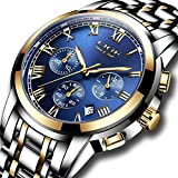 Best Designer Watches - Mens Watches Waterproof LIGE Luxury Brand Chronograph Sports Review