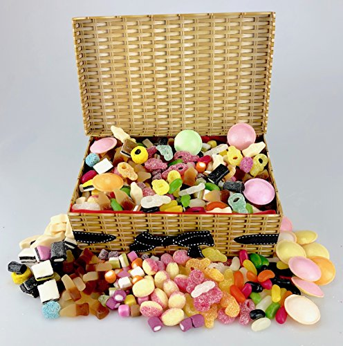 Happy Easter - Retro Sweet Hamper - Huge Over 1kg of Sweets !!! Much Variety Full of Lip Smacking Sweets!