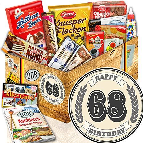 68. Geburtstag + DDR Korb + Geschenke 68 Geburtstag Papa