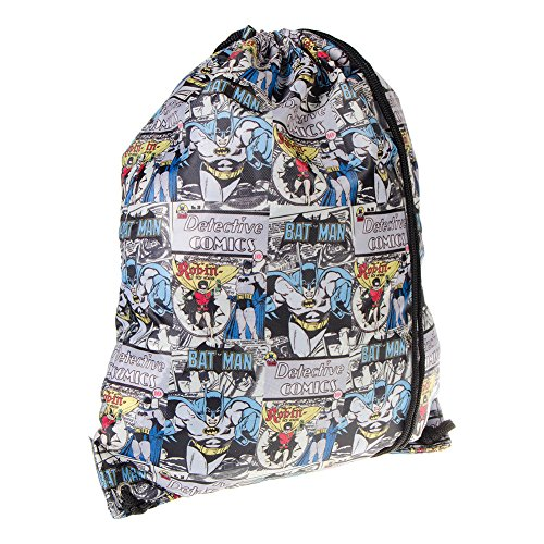 DC Comics Batman & Robin Gym Bag (Blue)
