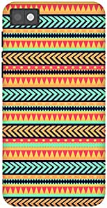 The Racoon Grip Tribal Print hard plastic printed back case / cover for Blackberry Z10