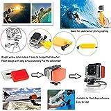 Vanwalk Zubehör-Kit für GoPro 5 4 3+ 3 2 1, SJCAM SJ4000 SJ5000 SJ6000 SJ7000, Xiaomi Yi, WiMiUS, DBPOWER (20 in 1 ) - 3