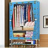 Hängende kleidung aufbewahrungsbox Langlebige zubehör regale - umweltfreundliche schrank cubby,Pullover & handtasche organisator - halten sie ihre garderobe sauber & ordentlich.Easymount-E 183x83x45.5cm(72x33x18)