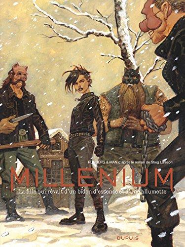 Millénium - Intégrale - Tome 2 - La fille qui rêvait d'un bidon d'essence et d'une allumette (French Edition)