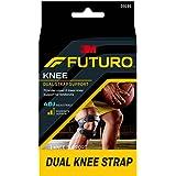 Futuro Dual Strap Adjustable Knee Support, Black -16330169